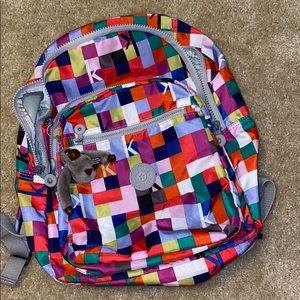 Kipling colorful backpack